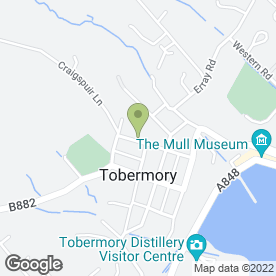 Map of Tobermory Taxis in Tobermory, Isle Of Mull, isle of mull