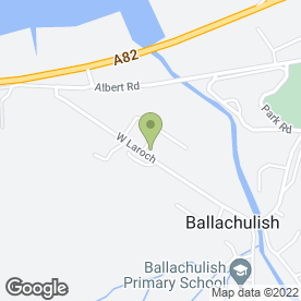 Map of Alistairs Taxis in Ballachulish, argyll