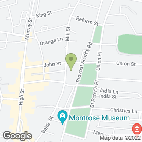 Map of LINKS HOTEL in Montrose, angus