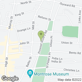 Map of PARK HOTEL in Montrose, angus