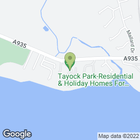 Map of FX Disco Services in Montrose, angus