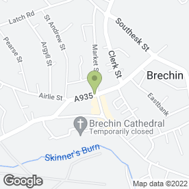 Map of LES TURRIFF in Brechin, angus