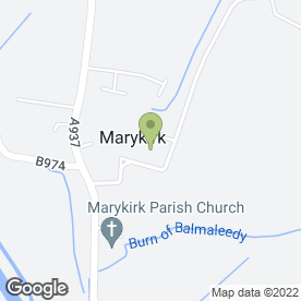 Map of Marykirk School in Marykirk, Laurencekirk, kincardineshire