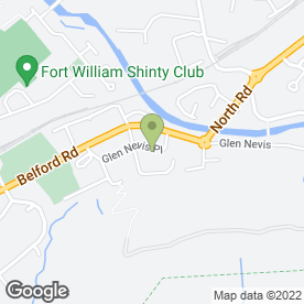 Map of Crown Veterinary Services Ltd in Fort William, inverness-shire