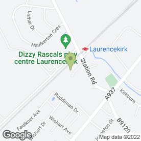 Map of Craig Watt Builders in Laurencekirk, kincardineshire