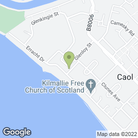 Map of Caol Cuts Hair Design in Caol, Fort William, inverness-shire