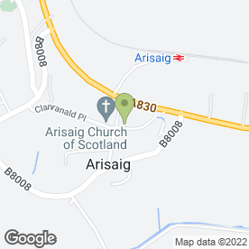 Map of ATR Heating Plumbing & Electrics in Arisaig, inverness-shire
