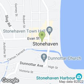 Map of Edge Hair & Beauty in Stonehaven, kincardineshire