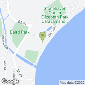 Map of Dermist Taxis in Stonehaven, kincardineshire