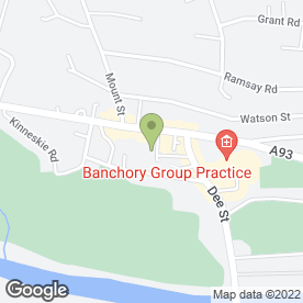 Map of Panache Designs Ltd in Banchory, kincardineshire
