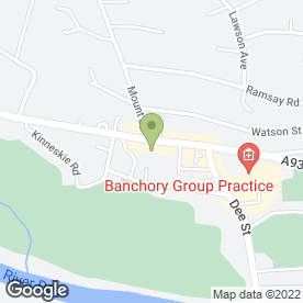 Map of The Grant Considine Partnership in Banchory, kincardineshire