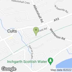 Map of John Mutch Building Services Ltd in Aberdeen, aberdeenshire