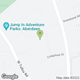 Map of OMVR Ltd in West Tullos Industrial Estate, Aberdeen, aberdeenshire