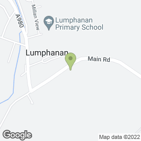 Map of E & M Lees in Invergarry, Lumphanan, Banchory, kincardineshire