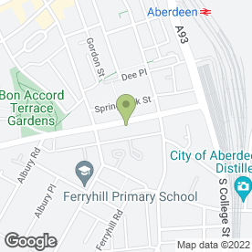 Map of A MILNE JOINERY in Aberdeen, aberdeenshire