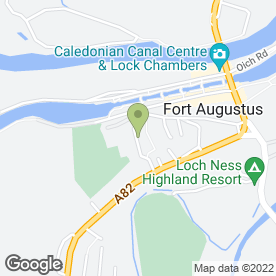 Map of Colin Orr in Fort Augustus, inverness-shire