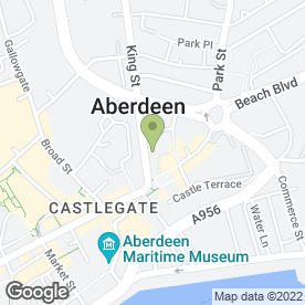 Map of BON ACCORD BLINDS in Aberdeen, aberdeenshire