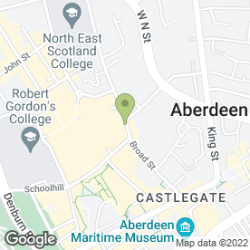 Map of Brewdog in ABERDEEN, aberdeenshire