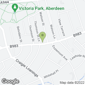 Map of G I Cladding & Joinery Ltd in Aberdeen, aberdeenshire