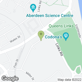 Map of Duncan Security (Aberdeen) in Aberdeen, aberdeenshire