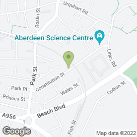 Map of Low Cost Van Hire in Aberdeen, aberdeenshire