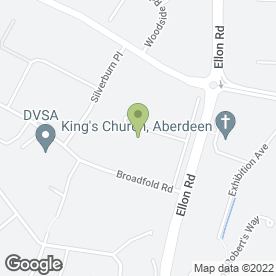 Map of Autospray Motor Body Works in Aberdeen, aberdeenshire