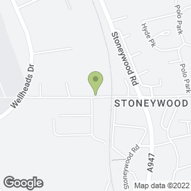 Map of Stoneywood Motors Ltd in Bucksburn, Aberdeen, aberdeenshire