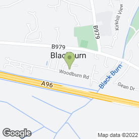 Map of Hudsons Catering in Kinellar, Aberdeen, aberdeenshire