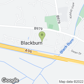 Map of Abbeydon Removals in Kinellar, Aberdeen, aberdeenshire