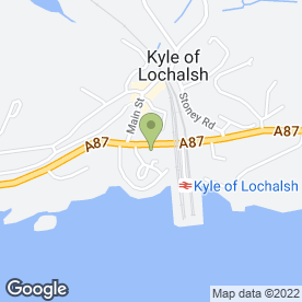 Map of Design Interiors in Kyle, ross-shire