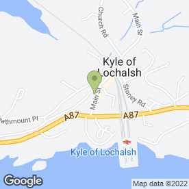 Map of Royal Bank of Scotland in Kyle Of Lochalsh, Kyle, ross-shire