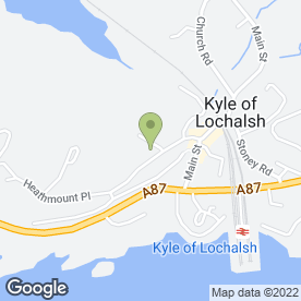 Map of Kyleprint in Kyle, ross-shire