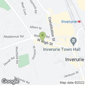 Map of Chelsea House Clinic in Inverurie, aberdeenshire