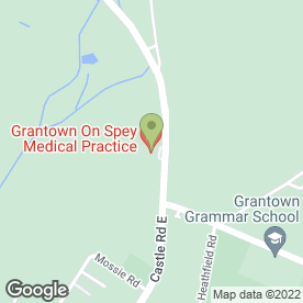 Map of Grantown-on-Spey Health Centre in Grantown-On-Spey, morayshire