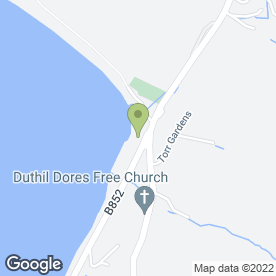 Map of Dores Inn in Inverness, inverness-shire