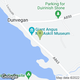 Map of Dunvegan Hotel in Isle Of Skye, isle of skye