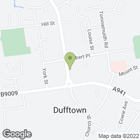 Map of G & A Construction in Dufftown, Keith, banffshire