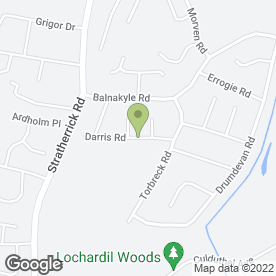 Map of LOCHARDIL GARDENING in Inverness, inverness-shire