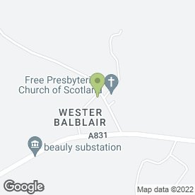 Map of BEAULY TAXIS in Wester Balblair, Beauly, inverness-shire