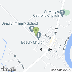 Map of Fraser-Lee Joinery & Building Contractors in Beauly, inverness-shire