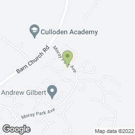 Map of Robert Taylor in Culloden, Inverness, inverness-shire