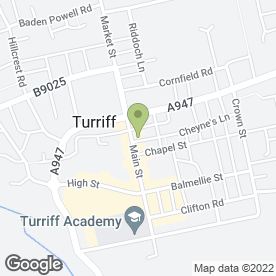Map of Jungle Mania in Turriff, aberdeenshire