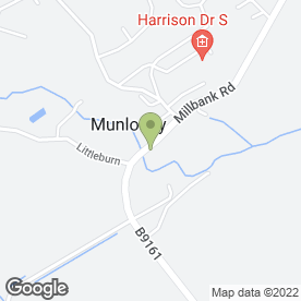 Map of Munlochy Private Hire in Munlochy, ross-shire