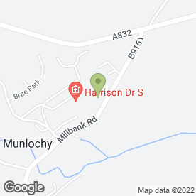 Map of Moray Firth Blinds Ltd in Munlochy, ross-shire