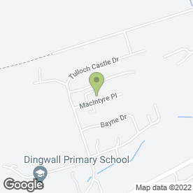 Map of Alf Maber School of Motoring in Dingwall, ross-shire