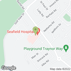Map of Seafield Medical Centre in Buckie, banffshire