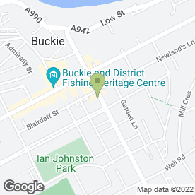 Map of Seafield Veterinary Group in Buckie, banffshire