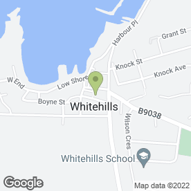 Map of Seafield Arms in Whitehills, Banff, banffshire