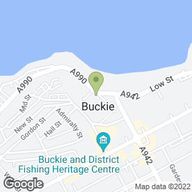 Map of Buckie Joiners in Buckie, banffshire