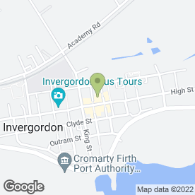 Map of The Co-operative Food in Invergordon, ross-shire